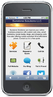 Sunstone Web Solutions mobile-friendly website